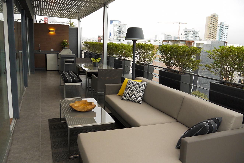 Diseño Integral De Terraza En ático Duplex Vanessa Matas